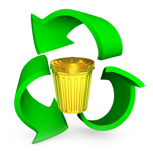 golden_bin_with_recycle_symbol_stock_photo_2