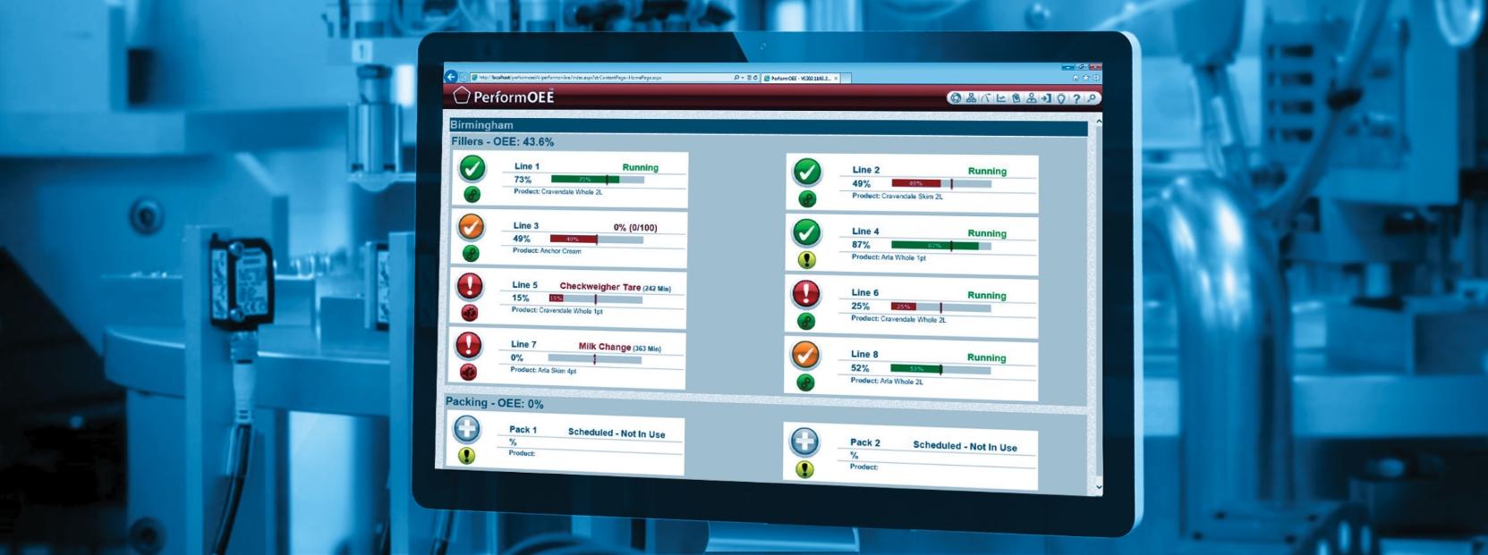 PerformOEE Smart Factory Software