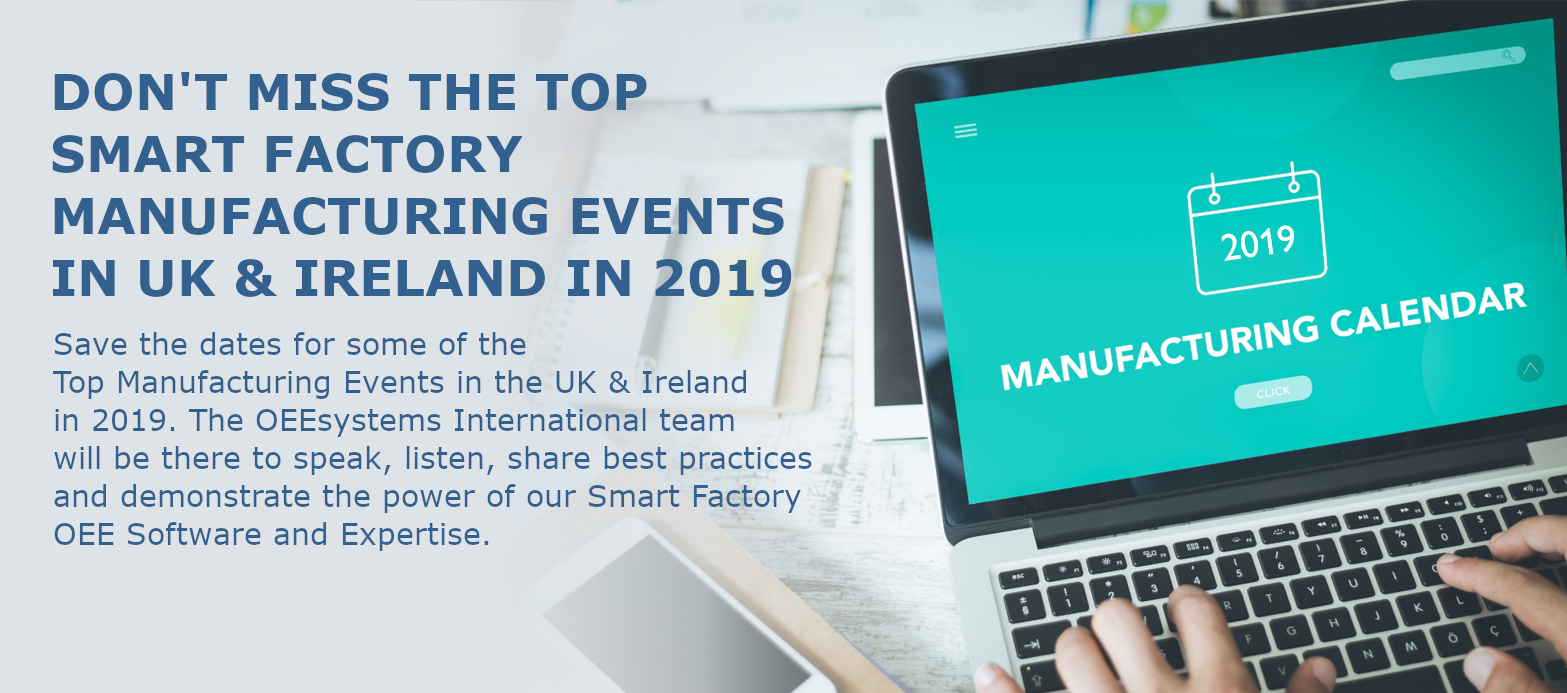 Smart Factory Events Calendar time to Save the Date
