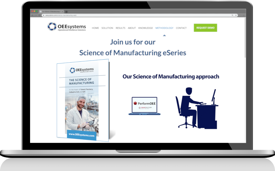 Our Approach – The Science of Manufacturing | PerformOEE Smart Factory Software