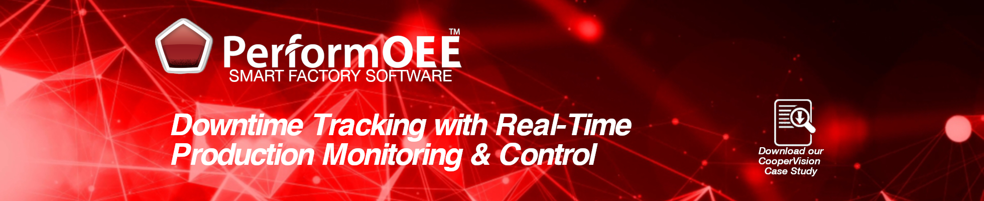 Downtime Tracking with Real-Time Production Monitoring and Control | PerformOEE | OEEsystems